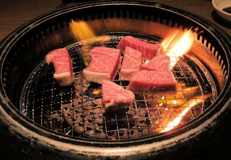 Japanese Kobe Shimofuri Beef Barbecue